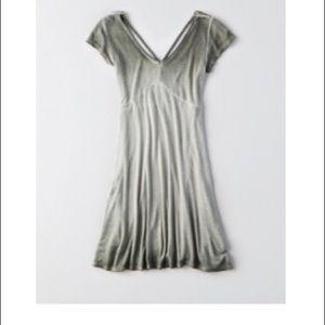 Ribbed American Eagle dress